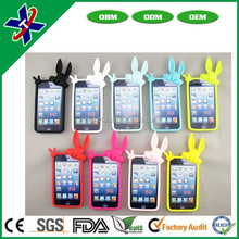 customized logo and color silicone rubber custom cheap mobile phone case