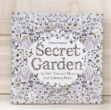 2015 summer hot saler books secret garden coloring book for hand painting