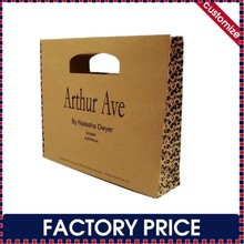 Factory price custom cheap paper shopping bag with die cut handle