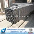 ASTM A500 tubo rectangular estructural y precio del acero por tonelada