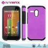 wholesale mobile phone case for MOTO XT1032 fancy slim armor combo case
