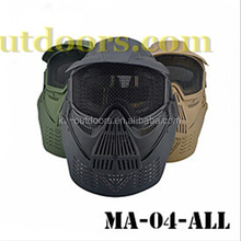 3 Colors Outdoor Military Gear, Tactical Gear, Full face Military combat mask