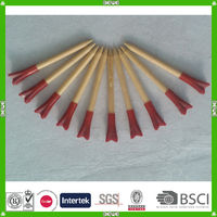 2014 hot sale high-quality unique bamboo golf tees