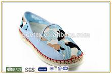 GCE867 Bonito zapatos pintados a mano