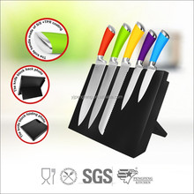 for Kitchen using Stainless Steel Knife set , plastic handle, cutting knife