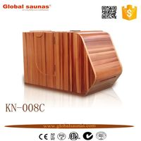 full spectrum far infrared portable dry wooden mini sauna room
