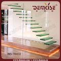 de vidrio escalera de peldaños de escaleras flotante