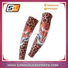 Stan caleb China made Design elastic Sport Compression arm and hand sleeves