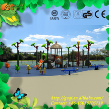 China wholesale cheap kids playground/outdoor playground games kids/customized plastic playground equipment GQ-005-A
