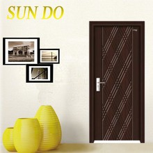 Special offer PVC bathroom door price from China factory
