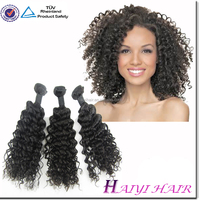 Large Stock Wholesale Remy Virgin Deep Wave Human Hair For Braiding