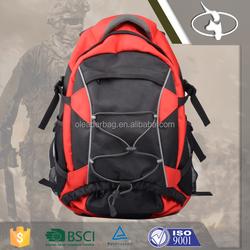 1680D Durable Waterproof Hiking Backpack with Ergonomic Softback