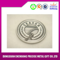 Cheap new arrival anodized color metal coin