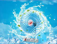 6' usb mini metal cooling fan / mini portable small fan / mini squirrel cage fan