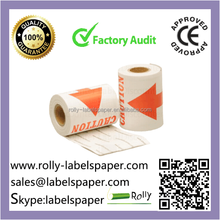 custom self adhesive fragile warning labels supplier