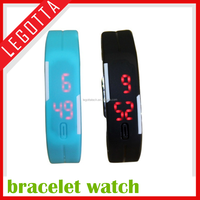 New innovation shock!!made in china fashionable led high quality silicone rubber watch