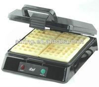 4 Slice Square Belgian Waffle Maker Big Power with Ceramic Coating
