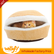 Hot selling pet dog products high quality cat burger bed