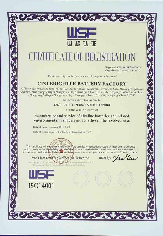 SGS CE BRIGHTER Ultra Alkaline Batteries