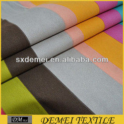 woven print poly cotton canvas for tent