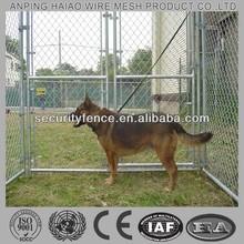 United Kingdom galvanized chain link dog run