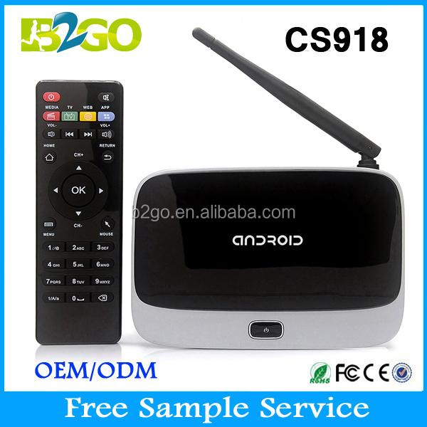 Original CS918 Android 4.4 TV BOX MK888 XBMC Fully Loaded RK3188 Quad core 1 G / 8 G Smart TV Media Player