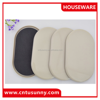 heavy adhesive clear plastic furniture covers for glides