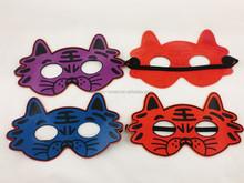Soft Rubber Tiger Animal Mask for Kid