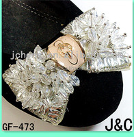 crystal color wedding shoes accessories