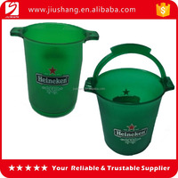Personalized logo Plastic Small ice bucket cooler for party
