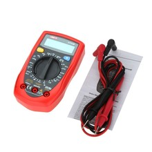 Low price Electric Digital Multimeter AC DC Ohm volt Temperature Tester Meter UNI-T UT33B LCD Display Handheld Digital Multimete