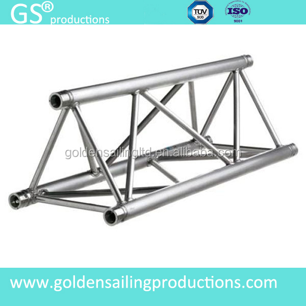 Hoist lifting system for aluminum roof truss aluminum for Truss roof system