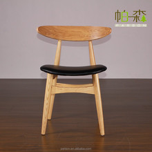 indoor eames wooden chair replica wood design dining chair