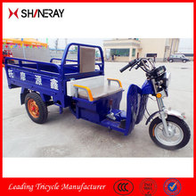 2015 New Products Made in China OEM High Quality Pedal Cargo Moped Scooter Tricycle