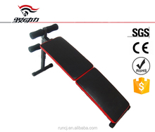 Super quality newest adjustable exercise used sit up bench
