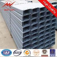Steel material steel c channel sizes