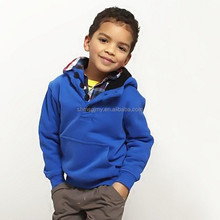 OEM boy's clothes with double thickening hood children's hoodies coat