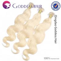 Ralphs Laurens 16 inch silky 613# blonde body wave virgin hair for ralphs laurens