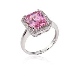 Big pink stone cheap bulk jewelry