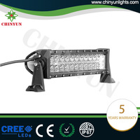 New Design Chinyun 72W straight truck led light bars for Jeep with spotlight