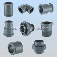 PVC drainage pipe fittings reducer,coupling,tee