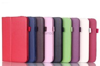 """7"""" Folio Tablet PC PU Leather Case Cover Stand for Lenovo A3000 / A3300 / A3500 /A5500 / S6000 / S5000/ B8000 /S8-50 / A7-10 / A"""