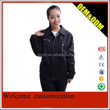 windproof navy blue work jackets and pants suits