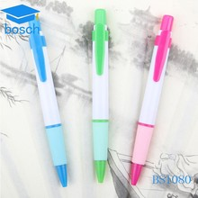 gift stationary plastic clip ball pen for promotion