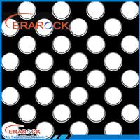 Modern white wave point design ceramic floor tiles