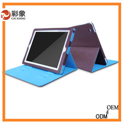 2015 Trade assurance newest leather phone case for Ipad 4 Tablet Accessories Wholesale