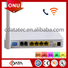 Optic GPON Optical Network Terminal ONT 4FE+2FX+WIF for FTTx