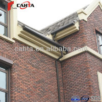 Using AES resin a raw material roof drainage system