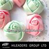 RT457 Handmade Girl/Wedding Hair Clips Satin Designs Of Ribbon Flowers