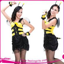 atacado patchwork mangas de carnaval fantasia de abelha